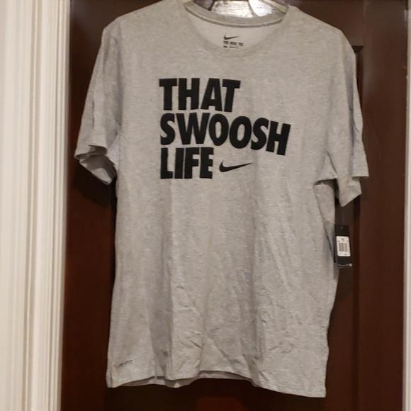 23a0de6b Nike Shirts | Mens That Swoosh Life Tee Shirt | Poshmark